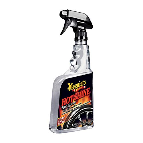 meguiar s hot Shine high Gloss tire Spray. 24 oz.