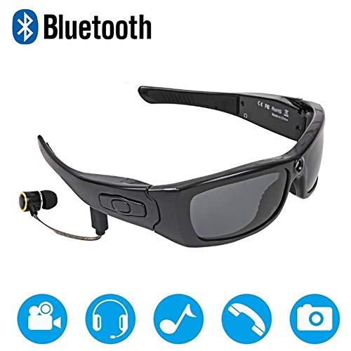ZQYR Bluetooth des Lunettes de Soleil Bluetooth Casque Mains Libres  Conduire des Lunettes Caméra Verres Mini DV Sport Cyclisme Lunettes