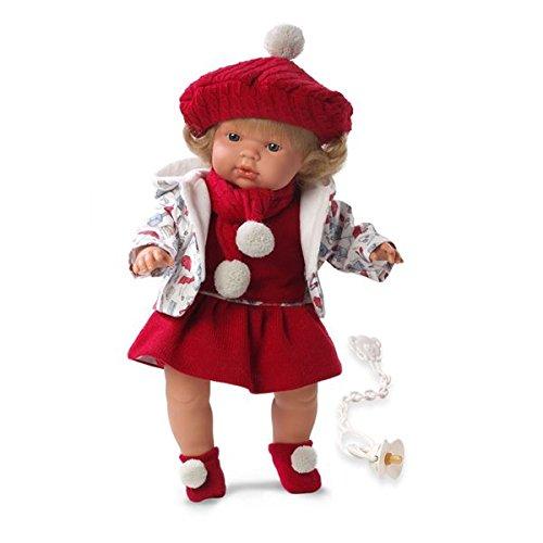 Preisvergleich Produktbild Llorens 38536 - weinende Puppe Lola