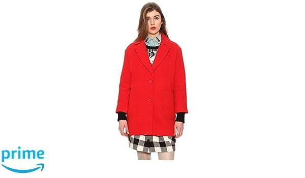Rosso Loves Amazon Pepa it 42 Donna Giubbotto Sofia Abbigliamento xIzqzA6