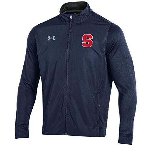 Under Armour NCAA Herren Tech Terry Full Zip Jacke, Herren, Tech Terry Full-Zip Jacket, Navy, XX-Large Terry Zip Jacket