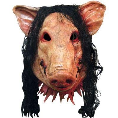 Saw - Jigsaw Pig Killer Deluxe Schweine - Saw Jigsaw Killer Kostüm