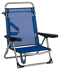 Safari-607ALF16 Silla Playa FIBRELIN Azul, 87426