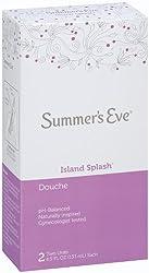 Summers Eve Douche, Island Splash, 2 - 4.5 fl oz (133 ml) units