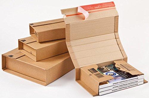 Versandverpackung, CP 020.08, Menge: 20 Stück, Farbe: braun, Maxibrief, Karton