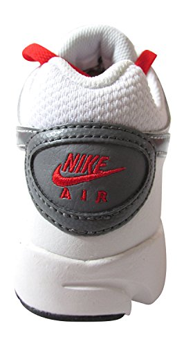 Nike, Sneaker uomo (white pure platinum cool grey chilling red 101)
