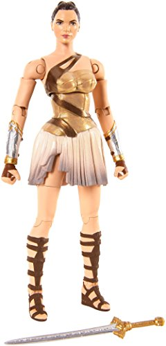 Justice League Wonder Woman Figura de Diana de Themyscira (Mattel Spain FDF47)