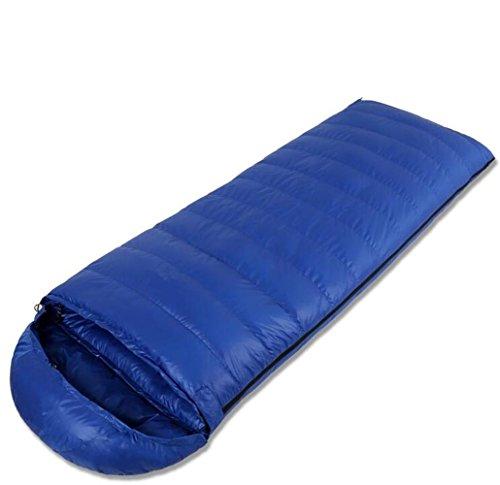 RJ YXX Professionelles Niveau Schlafsack Umschlag Daunenschlafsack Camping Im Freien Multifunktion Schlafsack Wasserdicht Winddicht Anti-kalt, Kaschmir Inhalt von 600 Gramm -