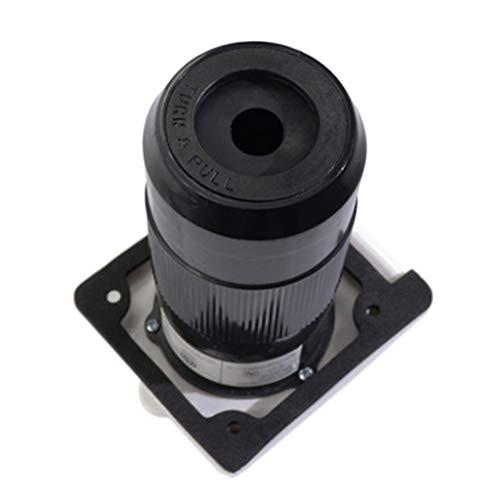 Verriegelung Twist-lock-stecker (F Fityle 50A 3 Pin Netzkabel Twist Elektrische Verriegelung Für Boot Marine Schiff)