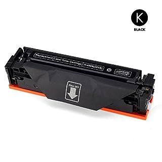 Airby® Toner kompatibel zu HP 201X CF400X für HP Color LaserJet Pro MFP M277dw, M252dw, MFP M277n, M252n, 4 Stücke (Schwarz)