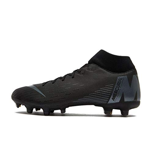 Nike Superfly 6 Academy FG/MG, Sneakers Basses Mixte Adulte, Noir Black 001, 44.5 EU