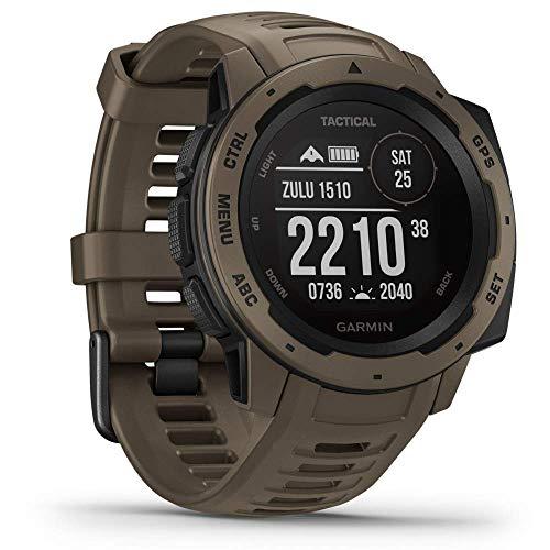 Garmin 010-02064-71 Instinct Tactical - Reloj Inteligente para Exteriores