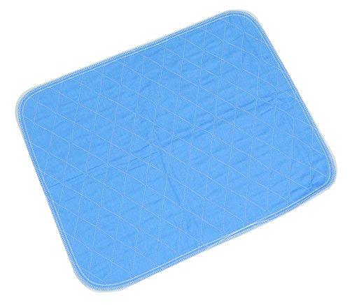 Aidapt VM842A Waschbeständige Stuhl- oder Bettauflage, blau (Für Frauen Inkontinenzeinlagen)