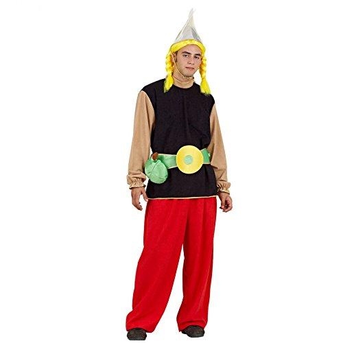 Mortino Kostüm Asterix Gr. M- XXL Comic Figur Karneval Fasching Antike (M)