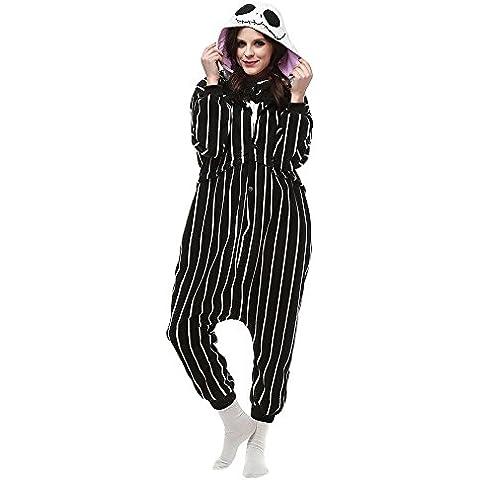 Kigurumi Pijamas Adulto Anime Cosplay de Halloween Traje Outfit Animal Pyjamas