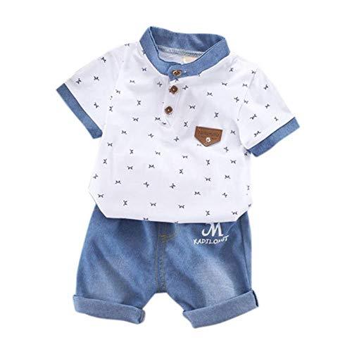 KOKOUK ❤️Junge Mädchen Baby Outfits Kleidung InfantStar Gedruckte Baumwolle Lange Ärmel - Minions Girl Kostüm
