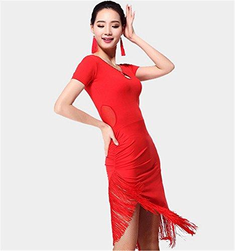 Les femmes coulent robe de danse Sula Ding / Plus de couleurs Red