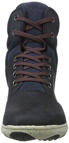Geox Damen D Nebula 4 X 4 B Abx A Hohe Sneaker Blau (navy)