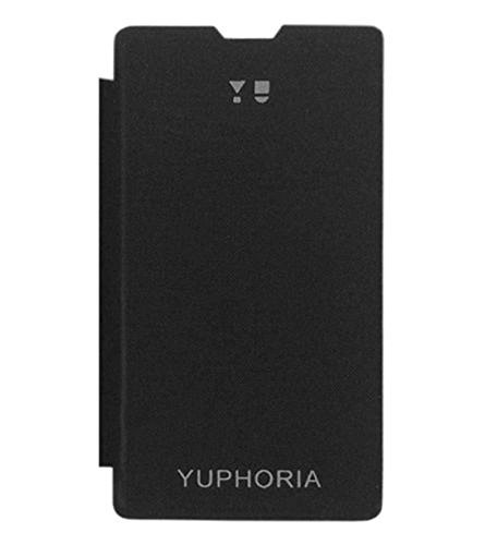 CurioCity Brand High Quality Flip Cover Case for Micromax YU Yuphoria YU5010