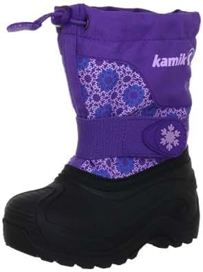 Kamik Snowtail NK4187, Mädchen Stiefel, Violett (pur), EU 32/33 (US 1)