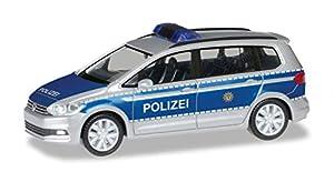 Herpa 094412 - Coche de policía para Volkswagen Touran Berlín