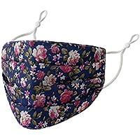 TEELONG - Bandanas de tela para la boca y el viento, reutilizables, lavables y lavables con gancho ajustable para la oreja