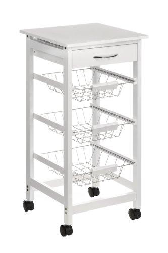 premier-housewares-2403025-carrello-da-cucina-legno-di-pino-mdf-impiallacciatura-finitura-bianca-cas