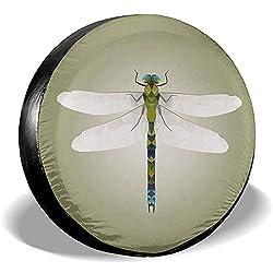Dem Boswell Dragonfly Reserveradabdeckung Staubgeschütztes UV-Sonnenradabdeckungen Universal Fit Wheel