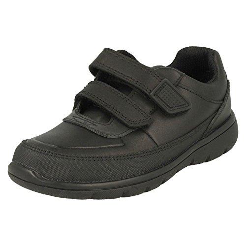 Clarks, Chaussures Basses pour Garçon - Noir - Noir, 30 EU E