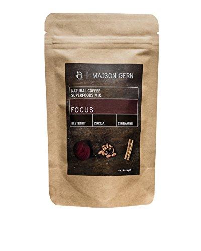 Focus | Kaffee mit Roter Bete, Kakao und Zimt | Bio Kaffee-Superfood Mischung für deine...