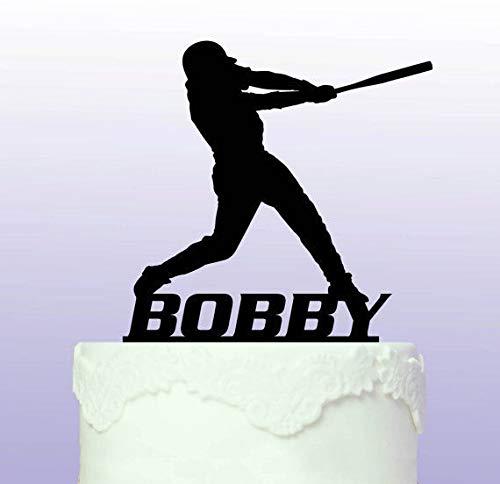 Tortenaufsatz Baseball, personalisierbar