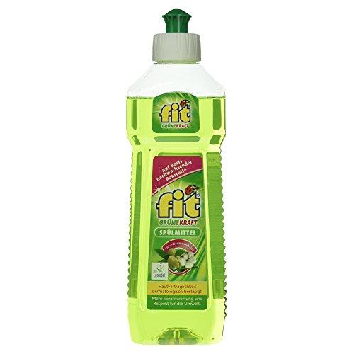 Fit Grüne Kraft Spülmittel Olive Baumwollblüte, 500 ml