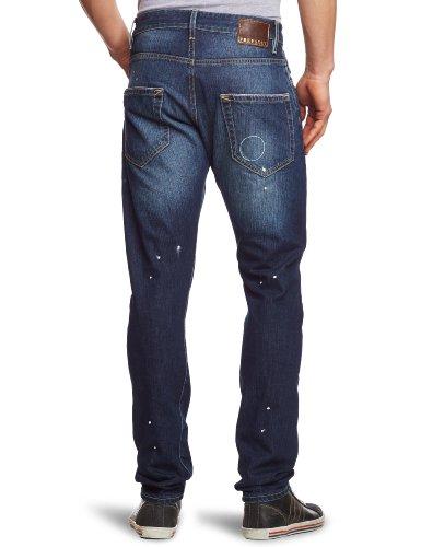 Freesoul Herren Jeans Normaler Bund P71059 Blau (GRIGG)