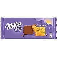 Milka - Galleta Chocolate Con Leche, 200 g - [Pack de 4]