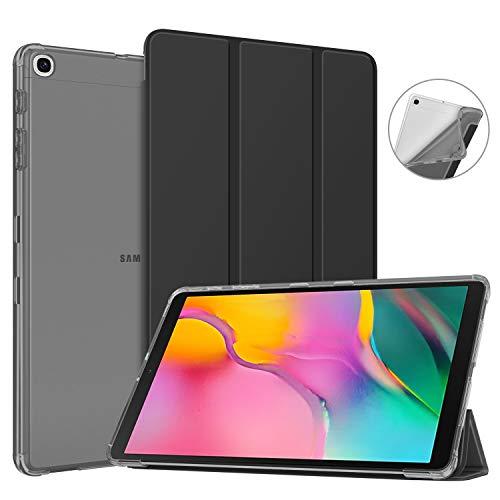 custodia morbida tablet 10.1 Fintie Custodia Cover per Samsung Galaxy Tab A 10.1 2019 - SlimShell Leggero Protettore in TPU Morbido Traslucido Cover per Samsung Galaxy Tab A T515/T510 10.1 2019
