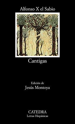 Portada del libro Cantigas (Letras Hispánicas)
