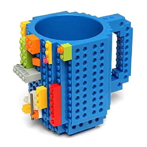 Soyion Kreativer Building Brick Mug DIY Brick Tasse DIY-Montage Kaffeetasse Becher,Weihnachten...