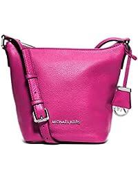 8bbf0e34fdc9 MICHAEL MICHAEL KORS Bedford Leather Small Messenger Bag