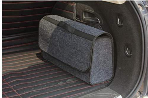 Gamloious Multifunktionale Großer Anti Slip Auto-Kofferraum-Boot-Speicher-Organisator-Kasten-Werkzeugkoffer -