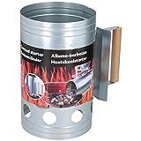 BBQ collection ciminiera/Starter per Barbecue a carbone-16 x 27 x 25,5 cm, Giallo