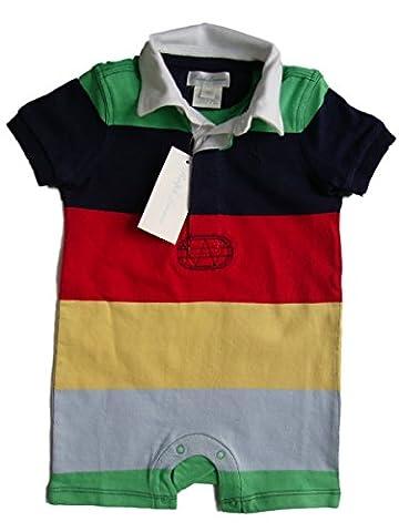 Ralph Lauren baby boys' short sleeved romper babygrow 6mths