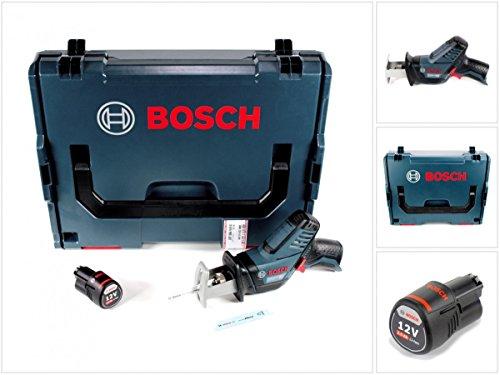 Preisvergleich Produktbild Bosch GSA 12V-14 Li-Ion Professional Akku Säbelsäge in L-Boxx + 1 x GBA 12 V 2,5 Ah Akku