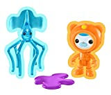 Octonautas. Figuras: Capitán Polar y el Calamar