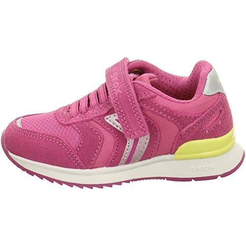 Geox J MAISIE B Mädchen Sneakers Rot