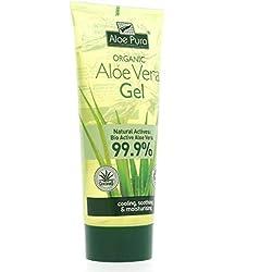 ALOE PURA - Gel Aloe Vera 99% - Senza Profumo - Ideale per le Scottature e per le punture di Insetto - Multiuso - 200 gr