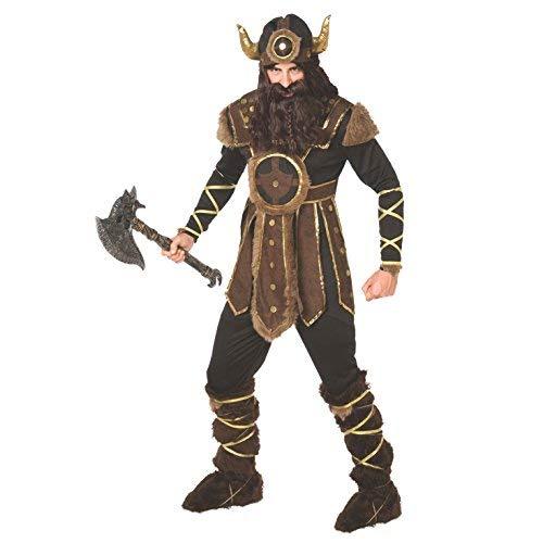 Wikinger Kostüm Historisch Mutig Nordische Krieger Qualität Kleidung für Herren - - Wikinger Kostüme