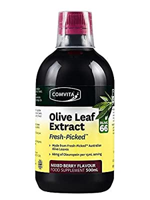 Comvita Olive Leaf Complex Mixed Berry 500ml (Pack of 3)