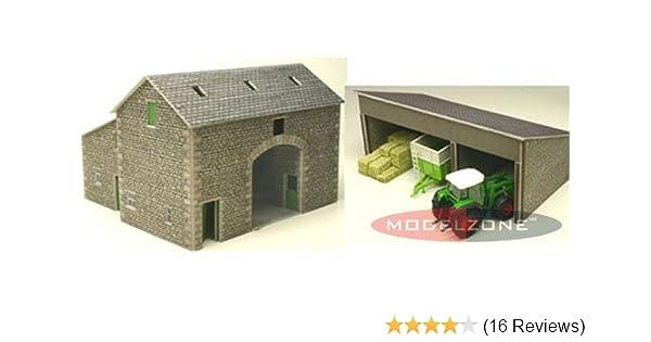 PO250 00 Manor Farm House Mecalfe Self build Model Rail Kits