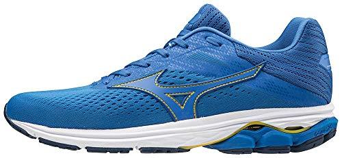 Mizuno Wave Rider 23, Zapatillas de Running para Hombre, Azul (EnamelBlue/PeacockBlue/Black 24), 42 EU