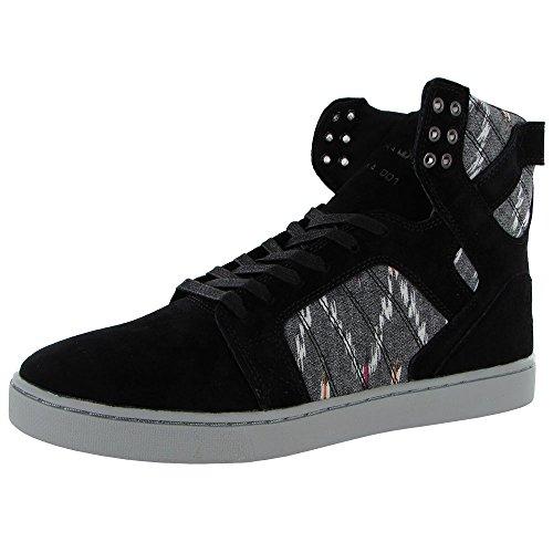Supra, Sneaker uomo Multicolore multicolore Nero (nero)
